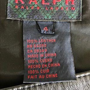 Ralph Lauren Dresses - Ralph Lauren Vintage Leather Dress